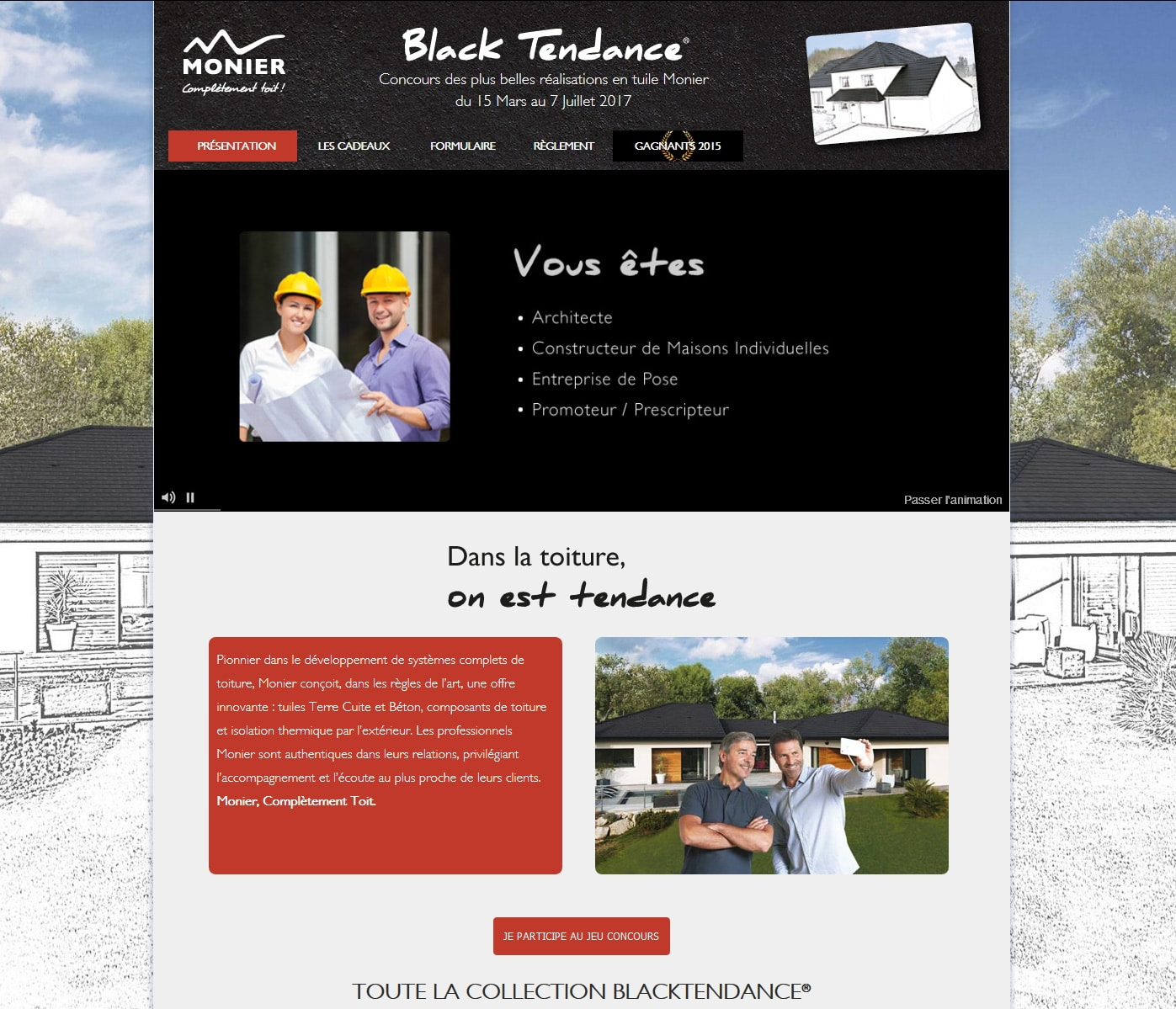 Concours Black Tendance MONIER
