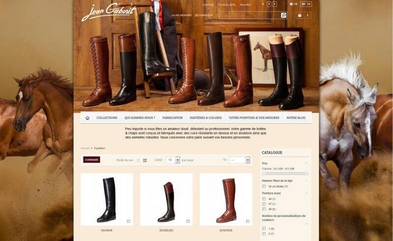 eCommerce Jean-Gaborit
